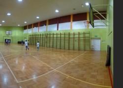 Sala gimnastyczna - Przewiązka